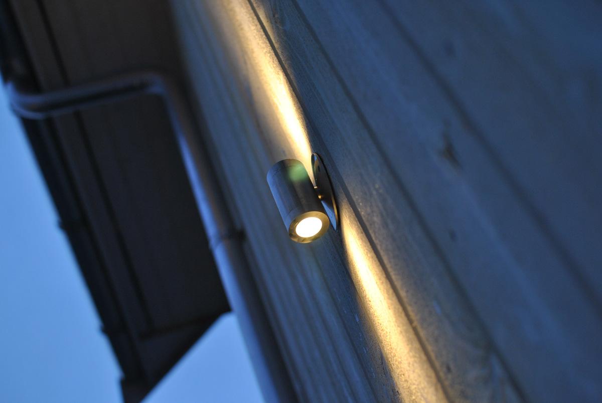 Utomhusbelysning ljusättning