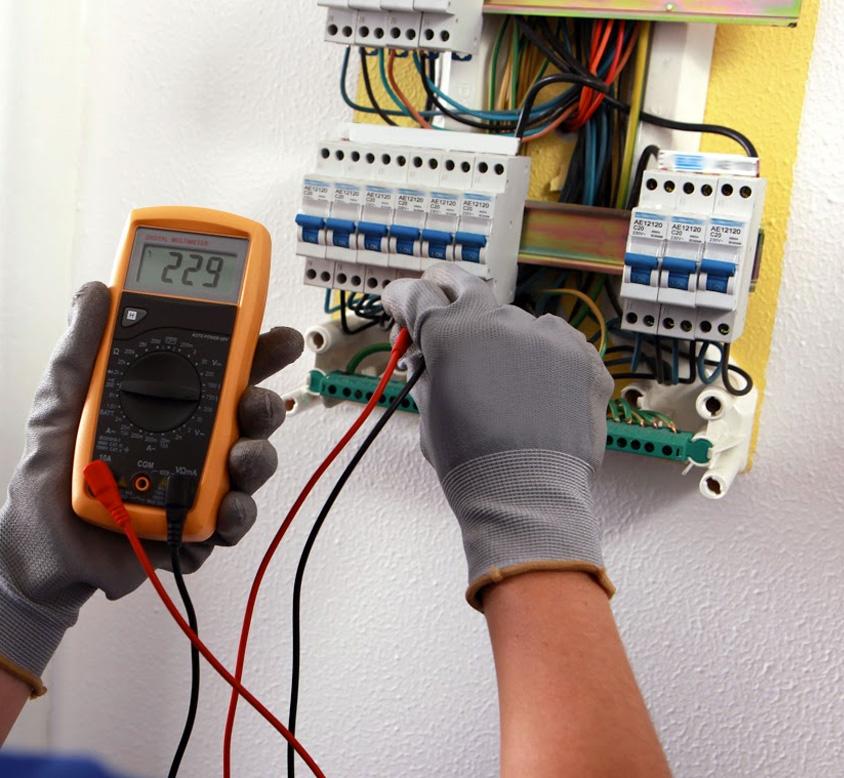 Behörig certifierad elektriker